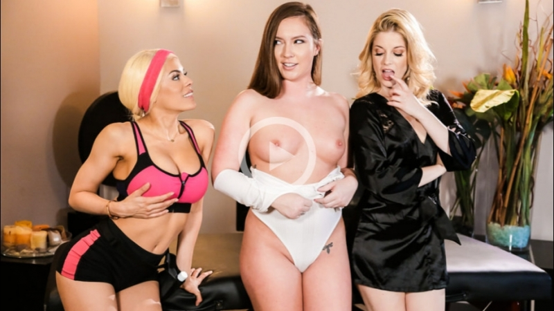 Charlotte Stokely, Luna Star, Maddy O'Reilly [PornMir, ПОРНО ВК, new Porn vk, HD 1080, Pussy Licking, Big Tits, 69]