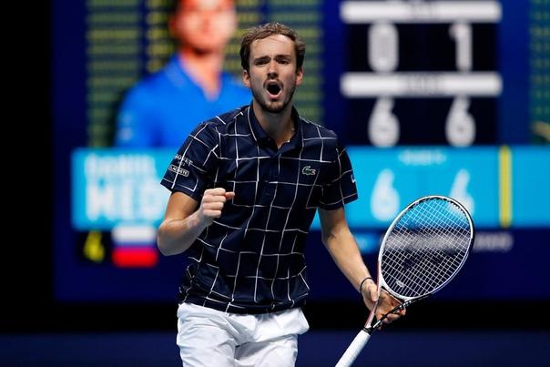 На этом турнире Даниил Медведев обыграл первую, вторую...