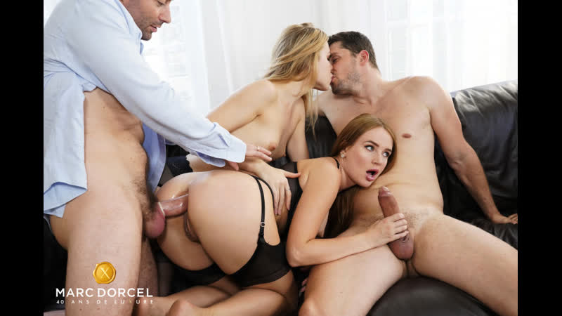 Kaisa Nord, Alecia Fox Seduction by Kaisa Anal Sex Foursome Russian Teen Babe Big Tits Juicy Ass Lingerie