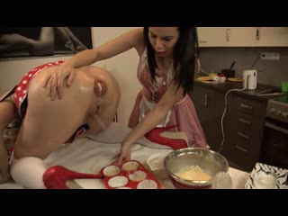 ASSALICIOUS! Cooking in the ASS! Starring Brittany Bardot and Jessy Jey BBC010 anal, ass to mouth, ass to pussy
