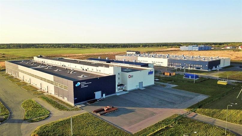 Шведская компания доставила в особую экономическую зону «Ульяновск» оборудование