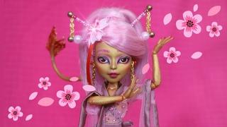 Spring REPAINT!🌸 Cherry Blossom Dragon 🌸 Custom Monster High Doll