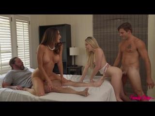 Lily Larimar, Silvia Saige - When The Swap Goes Wrong [Anal Porno,Sex,Gape,Анальное Порно, new porn 2020] 18+ 1080 HD