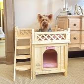 Домик- кровать для питомца из Массива Сосны