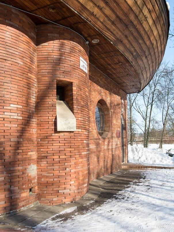 Музей Усть-Ижорского фанерного комбината, он же храм евангелистов