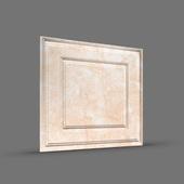 ПАЛЕРМО 3D панель облицовочная Rakitta песочный мрамор
