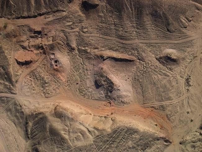 Загадочные фигуры плато Пальпа