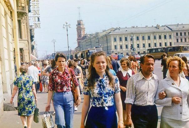 Невский проспект. 1977г.