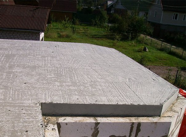 Монолитное бетонное перекрытие своими руками    Заливка монолитного...