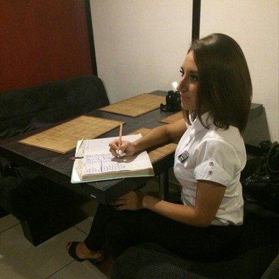 Анастасия Зимогляд, Луганск