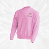 Свитшот розовый Nemiga (женский)