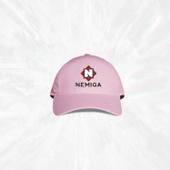 Розовая бейсболка Nemiga