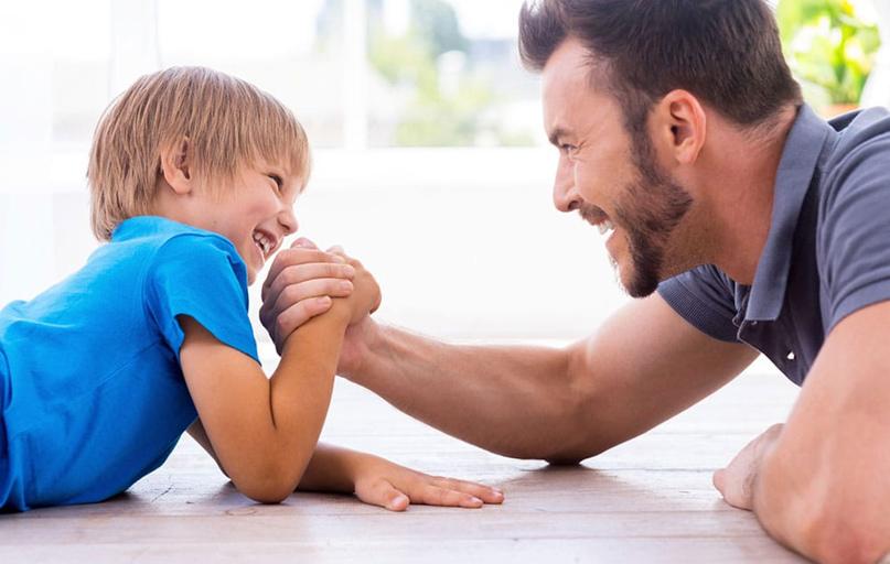 Очень важно понять, что когда мальчик в семье, то воспитывается мужчина.