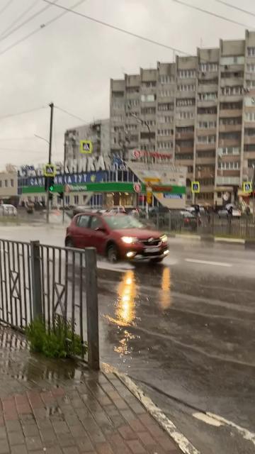 Московский ушёл под воду Брянск