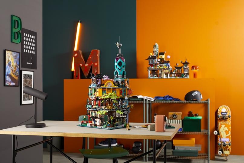 Линейка LEGO NINJAGO отмечает первое 10-летие и выпускает новые культовые наборы!🤩