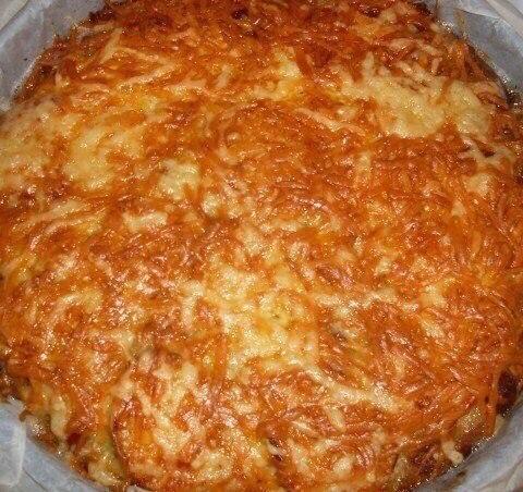 Кабачковый пирог - запеканка  Ингредиенты и приготовление:  Два маленьких кабачка...