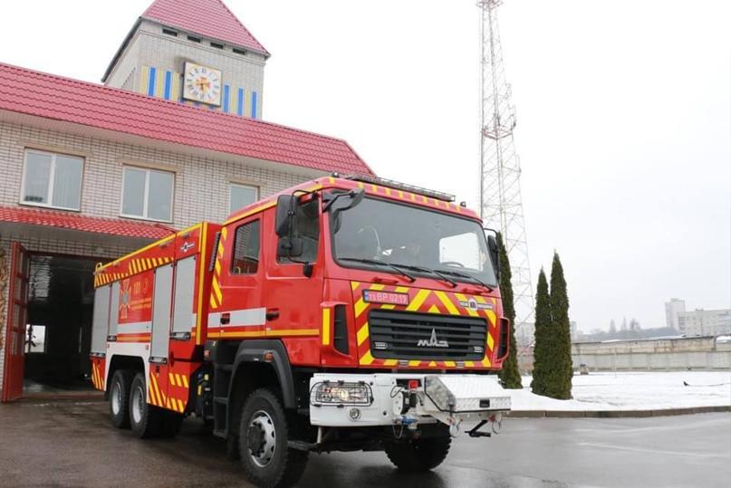 Спасатели получили новую пожарную технику