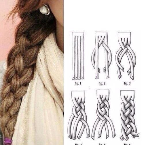 Классные и простые способы заплести косу