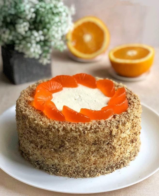 Апельсиновый торт»🍊