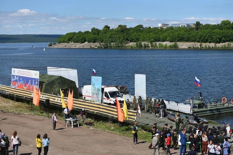Мемориальный речной марш побывал в Набережных Челнах.