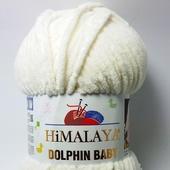 Пряжа HİMALAYA DOLPHİN BABY цвет 80308 (молочный)