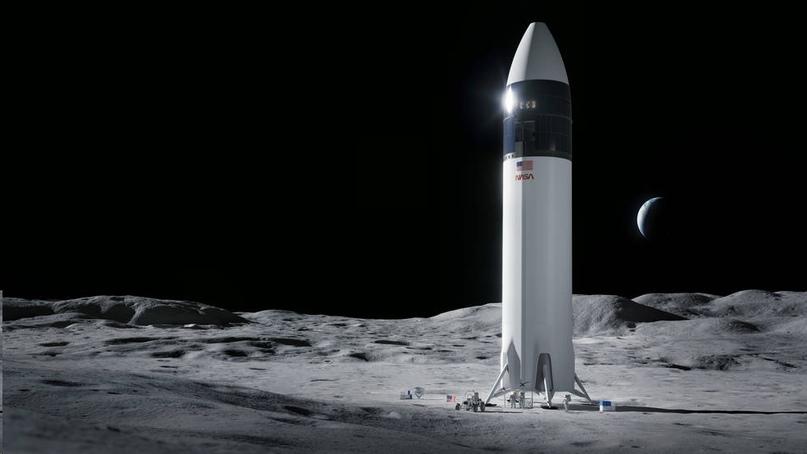 SpaceX получила контракт NASA по доставке астронавтов на Луну