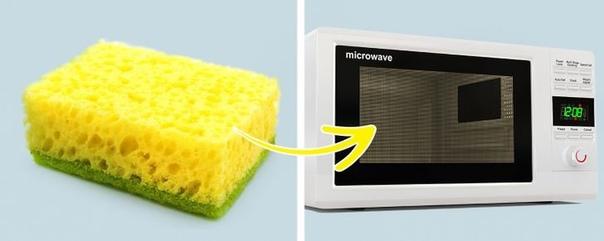 Справиться с жирным налетом на мебели поможет микроволновка