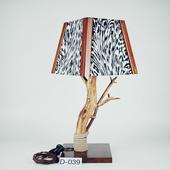 Авторский деревянный светильник DIMATI, Арт: D-039