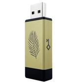 Устройство для хранения паролей Crypto Kakadu Air (Fern) 8,25 МБ, золотой, черный