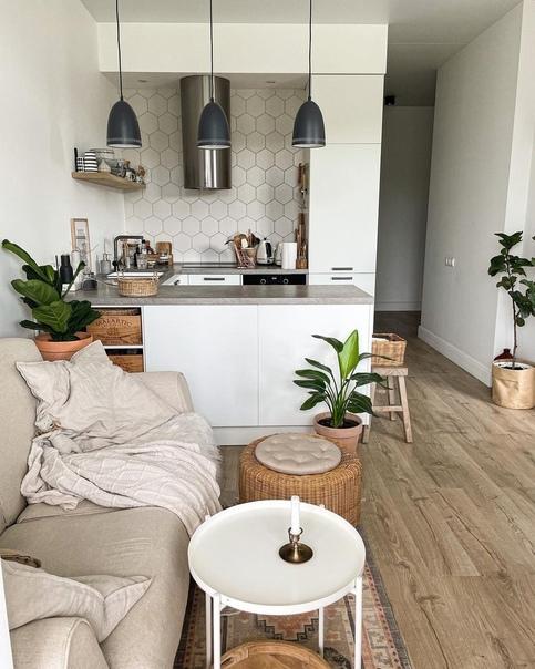 Очень уютный дизайн квартиры