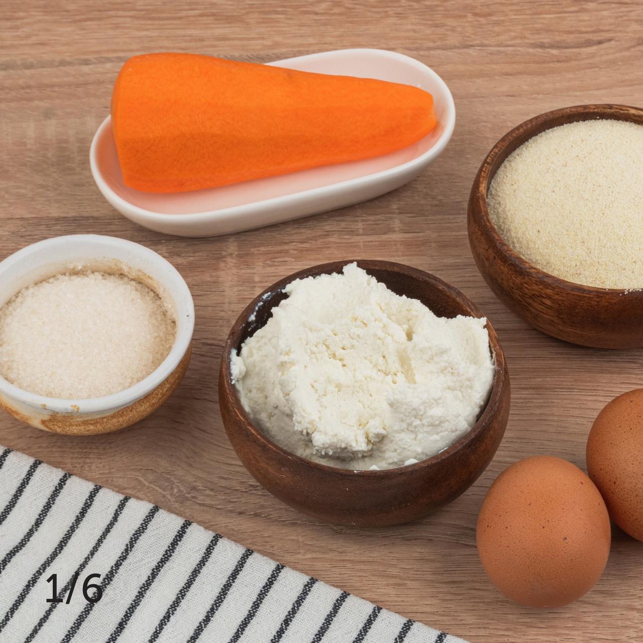 Морковно-творожные кексы 😋