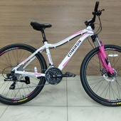 """Велосипед COM ML 220 27,5"""" белый/розовый"""