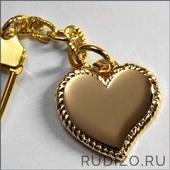 Сердце с гравировкой 21х21 мм -- арт. 11 СЕ