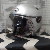 (О931)Мотошлем полулиц Airox (Италия), р-р XS