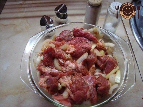 Вкуснейший шашлык в духовке