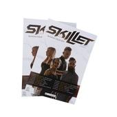 Постер туровый Skillet