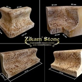 Каменный плинтус - V202. Комплект полиуретановых форм.