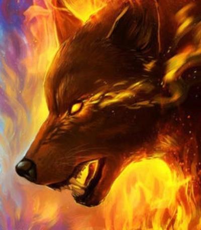 Огненная Волчица
