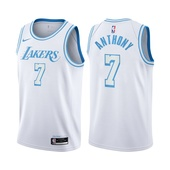 Carmelo Anthony Los Angeles Lakers City Edition White 2021 Jersey