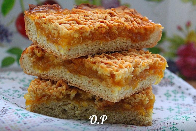 Венское печенье с апельсиновым джемом