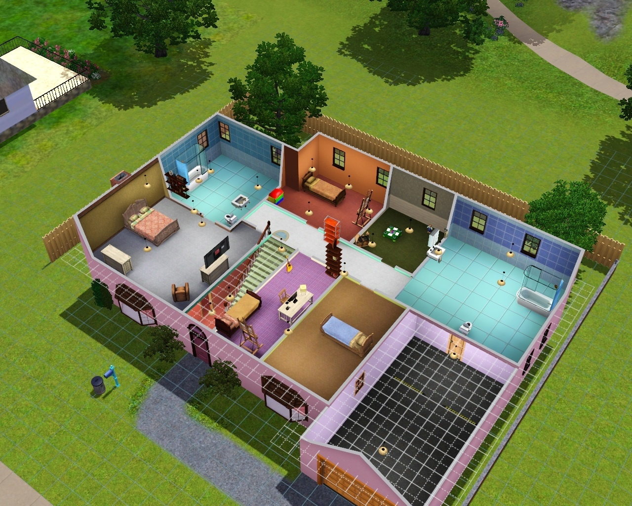 💃 ЛЮБИЛА СТРОИТЬ ДОМА В The Sims?