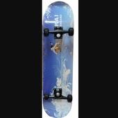 Скейтборд TRICK голубая