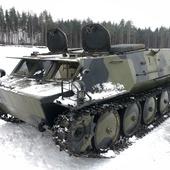 Катание на гусеничном вездеходе ГАЗ-73 ГТМУ