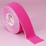 Кинезио тейп для коррекции лица (розовый), 2,5х500см