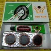 Заплатки RED SUN RS3601. Набор заплаток из 36 штук и тюбик спец. клея.
