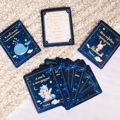 Карточки для фотосессий с достижениями малыша