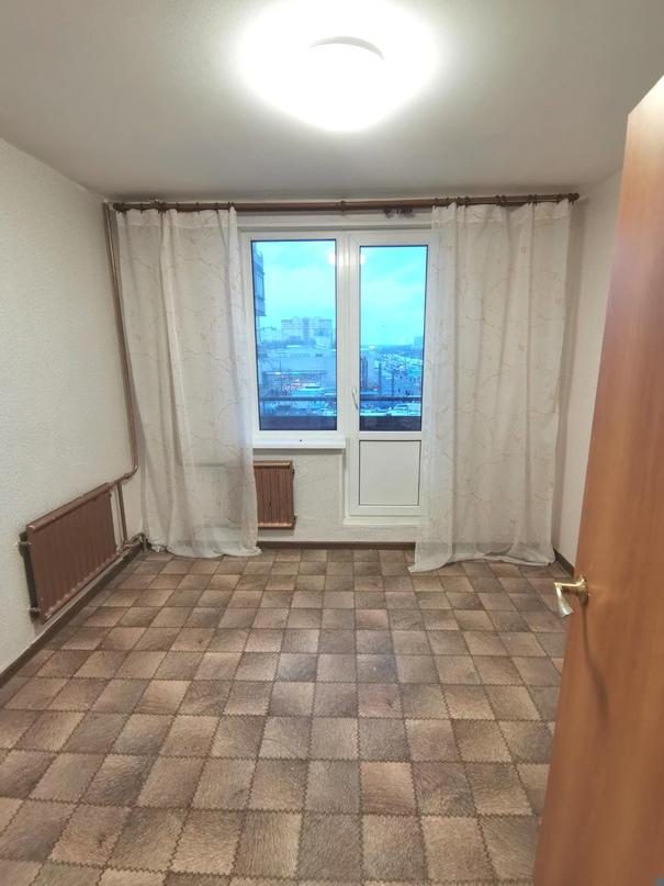 Двухкомнатная квартира от собственника, без комиссии, 45м, комнаты 15 и 9, смежные.
