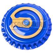 Кроненпробки с кольцом TSOLEBOURG 26 мм, 100 шт, СИНИЙ