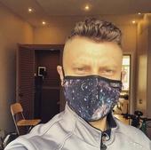 Защитные хлопковые маски с логотипом CHILL