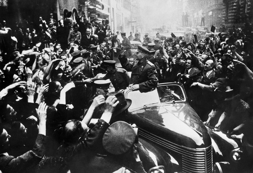 ⚔Последний рывок: Пражская операция началась 75 лет назад
